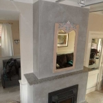 gray listro- fire place 2
