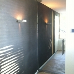 gomera gray finish- hallway